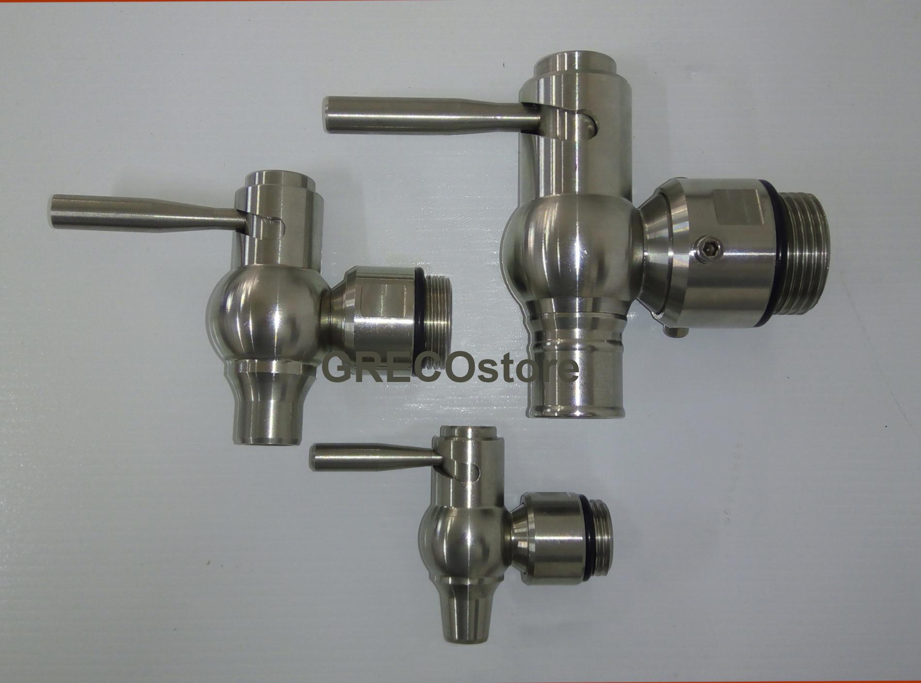 robinets en acier inoxydable pour réservoirs